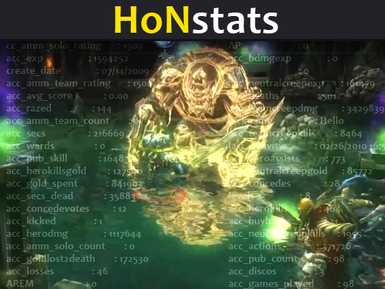 Heroes of Newerth player stats python script